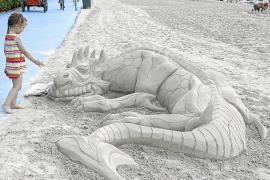 Prohibidas las esculturas de arena en las playas de Calvià sin permiso del Ajuntament