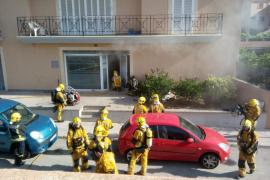 Incendio en las oficinas municipales de Son Ferriol