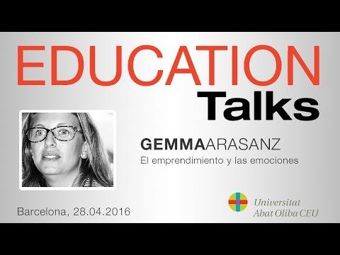 Education Talks sobre 'El emprendimiento y las emociones', con Gemma Arasanz
