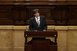 Puigdemont sobre las esteladas: «Esa es la España de la que queremos escapar»