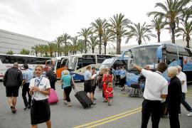 El 80 % de la flota de autobuses turísticos de Balears no se ha renovado desde 2010