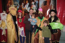 Los Reyes en el Grup Serra
