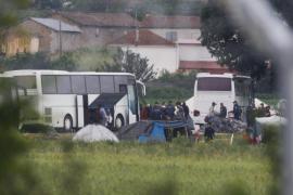 Comienza el desalojo del campamento de refugiados de Idomeni
