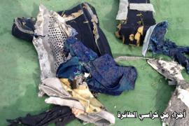 Los forenses apuntan a que hubo una explosión en el vuelo de EgyptAir