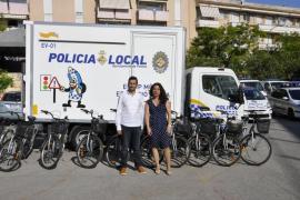 La SMAP cede 10 bicicletas para los circuitos de educación vial