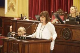 Armengol: «Es hora de aumentar el salario a los trabajadores» de Balears