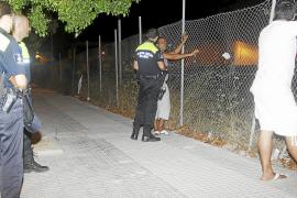 Dos detenidos de madrugada por un nuevo incendio en el polígono de Son Valentí