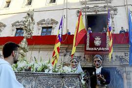 El tripartito en Cort se desmarca de la celebración del Corpus