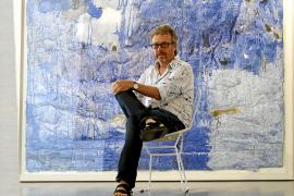 Maraver inaugura en la Nit de l'Art tras cinco años sin exponer en Palma