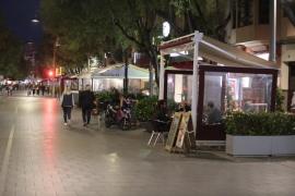 Cort no permitirá nuevas terrazas en Santa Catalina y Blanquerna