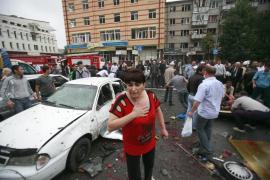 Al menos 16 muertos en una explosión en el mercado de la capital de Osetia del Norte