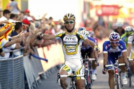 Etapa para Cavendish y Antón sigue líder de la Vuelta