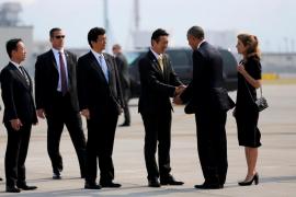 Obama se convierte en el primer presidente de EEUU en visitar Hiroshima