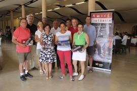 Drive por la solidaridad en el XI Torneo de Golf Vall de Sóller de Amics de la Infància