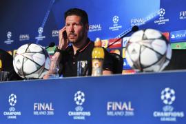 Simeone espera «un partido muy intenso y muy equilibrado»