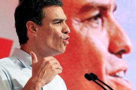 Pedro Sánchez: «Quien vota a Iglesias está votando contra el PSOE»