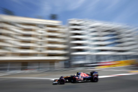 Sainz, en Mónaco: «Nuestro objetivo es Force india, mantenerles detrás»