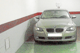 Bauzá 'hereda' la plaza de aparcamiento en el Parlament de Estaràs sin ser diputado