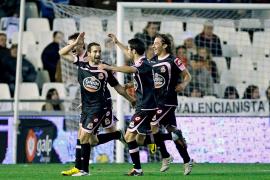 El Deportivo toma Mestalla