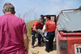 Rescate de un excursionista de 58 años herido en La Trapa