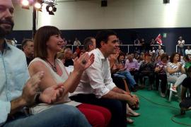Pedro Sánchez, en Palma: «La gran coalición ha sido la de Rajoy e Iglesias contra el cambio»