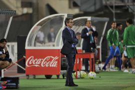 Vázquez, convencido: «Si ganamos en Valladolid seguiremos en Segunda»