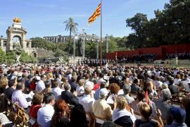 Los partidos catalanes ponen rumbo a las elecciones con motivo de la Diada