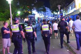 La Policía Local de Calvià sancionará al local que sirvió a un joven 75 chupitos