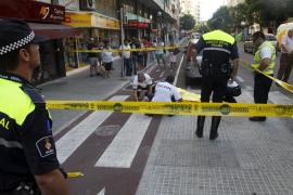 La policía investiga la caída de una chica desde el piso catorce de un edificio de Palma