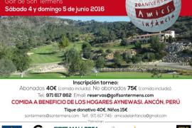 Torneo de golf benéfico Vall de Soller de Amics de la Infància