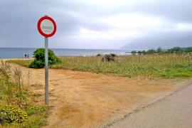 Prohibido el estacionamiento en los espacios naturales de Artà