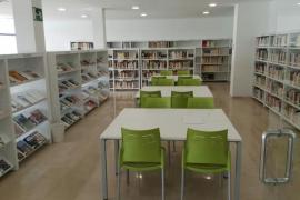 Reapertura de la biblioteca de Santa Ponça tras su traslado