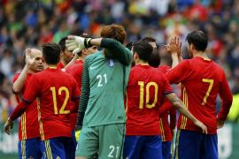 Festival goleador de España ante Corea del Sur
