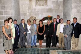 Los políticos rinden homenaje a Jaume II en la Diada