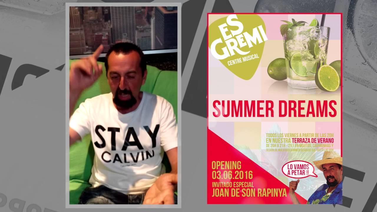 Joan de Son Rapinya presenta 'Lo vamos a petar' en la Summer Dreams de Es Gremi