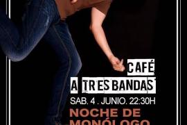 El monologuista Carlos del Pozo aterriza en el Café a Tres Bandas