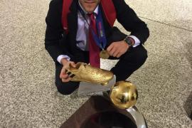 Miguelín, elegido mejor jugador del Europeo