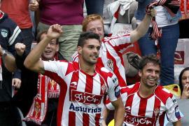 El Sporting suma sus tres primeros puntos a costa de un defensivo Mallorca