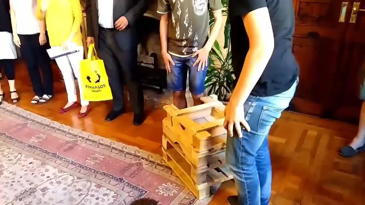 La silla respetuosa con el medio ambiente de Ensenyat