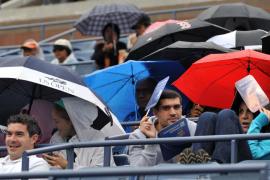 La lluvia aplaza la final del US Open