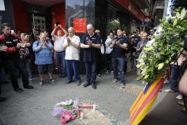 Homenaje a Luis Salom en Palma