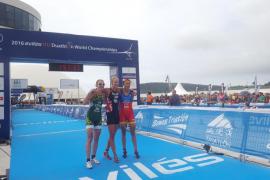 La mallorquina Mavi García logra el bronce en los Mundiales de duatlón