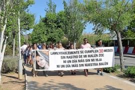 Medio centenar de personas recuerda a la desaparecida Malén