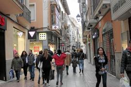 El comercio lidera la actividad económica en Palma, por delante incluso del turismo