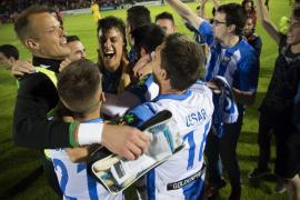 El Leganés, en Primera; Bilbao Athletic, Ponferradina, Albacete y Llagostera en Segunda B