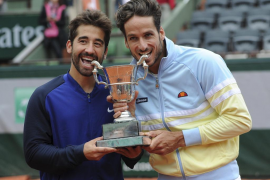 Feliciano y Marc López, campeones de dobles en Roland Garros