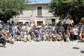Un centenar de personas exige en Santa Maria el cese de envenenamientos de perros
