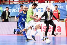El Palma Futsal cae ante el Inter Movistar y dice adiós al sueño de la final de la liga