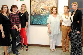 Cati Gelabert Niell presenta sus obras en el Centro de Historia y Cultura Militar