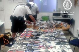 Arrestado con 560 relojes un suministrador de vendedores ambulantes en s'Arenal